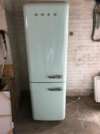 Smeg FAB32 left hand large retro fridge freezer