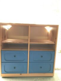 IKEA chest of drawers/shelves £30