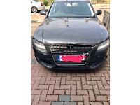 Audi A4 2L Tdi with damaged front