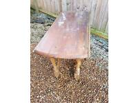 Dining table - probably outdoor use only!