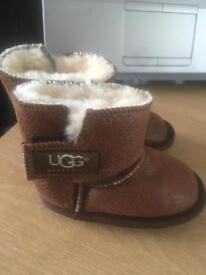 Babies suede ugg boots