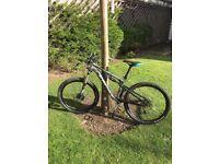 Kona 120 20014 enduro mountain bike