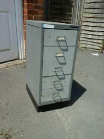 5 Drawer Steel Cabinet (Bisley)
