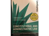 Law express, Constitutional & Administrative Law revision guide, by Taylor