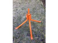 Cement Mixer Stand Assembly