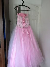 Pink Tiffany Prom Dress