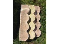 9 Border stones