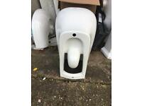 Brand new toilet set in white wall hung bargain 50 pound