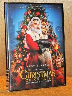 The Christmas Chronicles (DVD, 2018) Kurt Russell capture Santa Claus on xmas ()