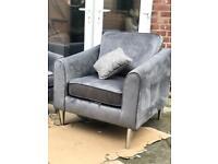 Brand New Velvet Armchair!!RRP £599