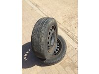 Used 175/65/14 tyre good tyre mot able on Vauxhall 4 stud rim 07594145438