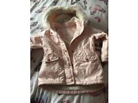 Girls river island coat 2-3 years