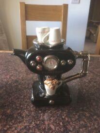 Limited edition Teapottery espresso machine