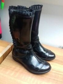Clarks Black Boots. Size 10f