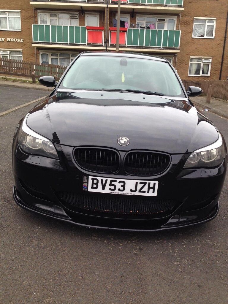 bmw e60 530d black m5 full body work in sandwell west midlands gumtree. Black Bedroom Furniture Sets. Home Design Ideas