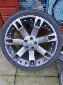 "Range rover overfinch alloy wheel 22"""