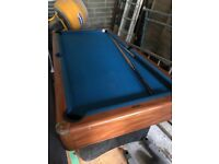 6ft x 4ft pool table. Pick up only