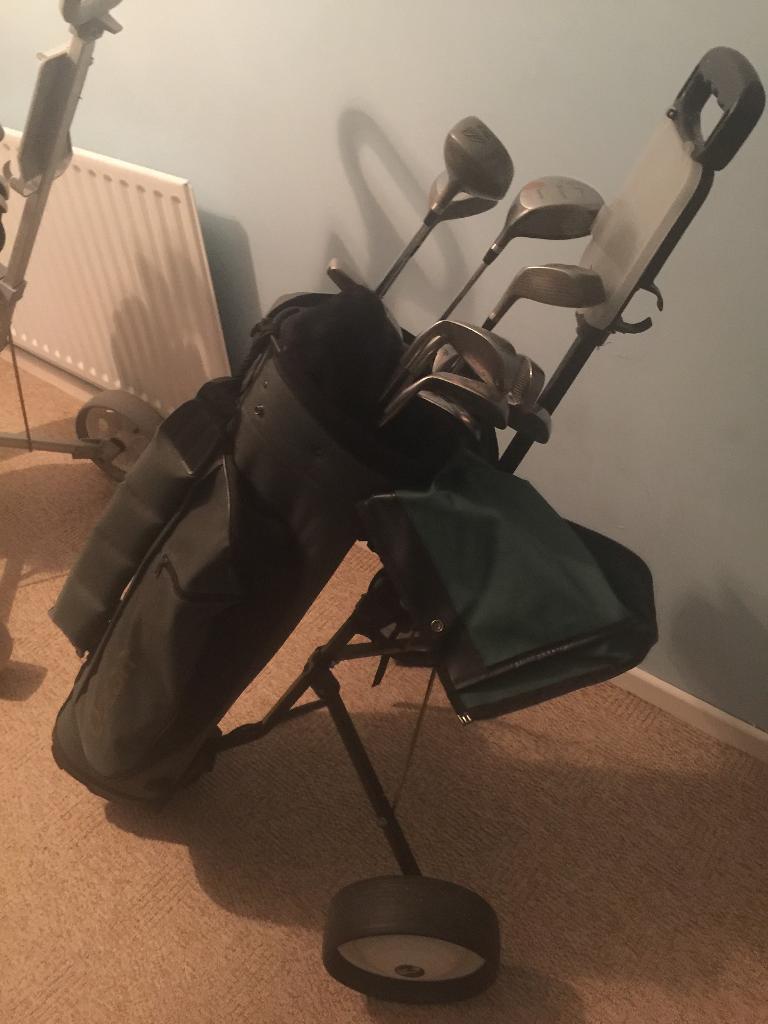 Golf clubs!