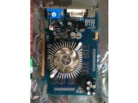 GeForce 7600 ga graphics card for pc, also 2x512mb ram
