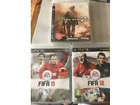 3x PS3 games in great condition - all classics