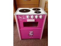 Hello kitty wooden cooker / oven toy