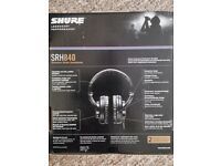 Shure SRH840 Reference headphones *sealed new*
