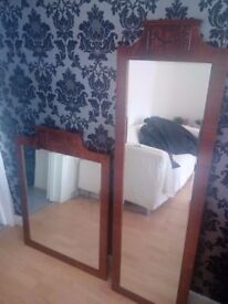 Twin Mirrors, Excellent Condition