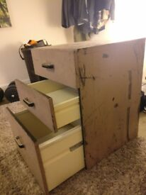 Free bedside table drawers