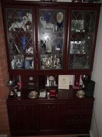 Lounge display cabinet