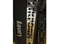 Laney VH100R guitar head with foot switch