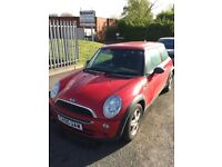 Mini One Red 2005 - new clutch - non runner - MOT until Oct 2018 - Misfire detection, cylinder 4