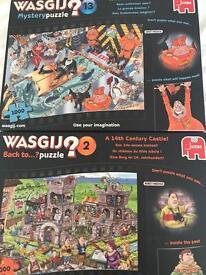 2 Wasgij jigsaw puzzles