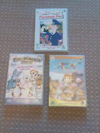 DVD 4 item pre-school bundle viewed a few times