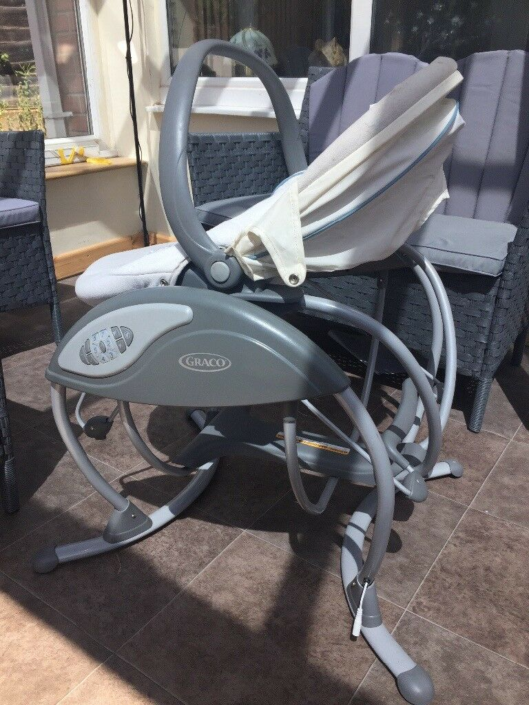 Graco glider elite gliding swing and bouncer