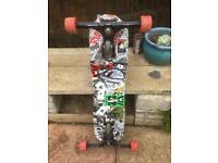 Freeboard skateboard