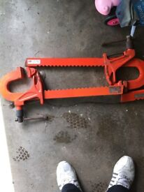 """Carver clamps for sale 2x 24"""" 2x18"""" used but in good condition. Offers welcome."""