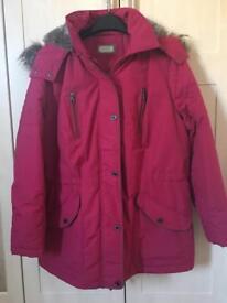M&S Per Una size 16 coat