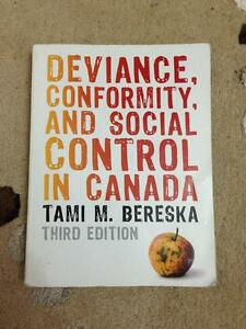 University Textbook: Deviance, Conformity, and Social Control
