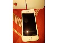 Iphone 5s brand new in box with charger and earphones
