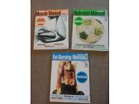 Men's Health Books - Muscle, Nutrition & Fat Burning Manual
