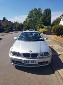 BMW 325ci 2001 72000 miles £1500