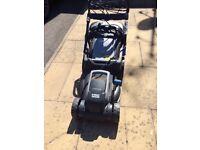 B&Q Mac Allister electric lawn mower