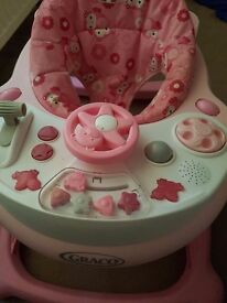 Graco baby walker with sounds