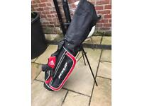 Junior golf set and bag Dunlop