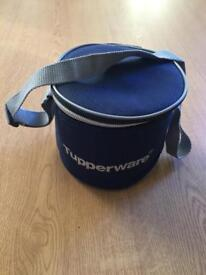 Tupperware lunch bag with 2 trendy containers