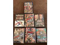 WWE Dvds bundle 17 discs in total