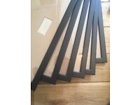 6 A3 Frames, display 29/39cm. From Ikea, used once. Selling together. Thanks