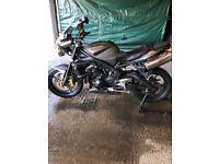 Triumph street triple R. Great bike! New mot & service. 3 keys, all paper work, stand, cover & lock