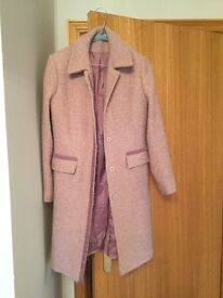 Principles Dusky Pink Coat size 10