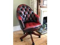 Chesterfield Directors Swivel Chair